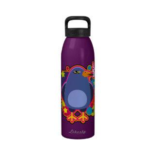 Pájaro del cigarro botellas de agua reutilizables