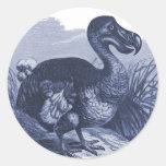 Pájaro del Dodo Pegatina Redonda