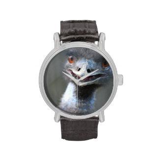 Pájaro del Emu Relojes De Mano