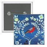 Pájaro del estilo de los artes y de los artes pins