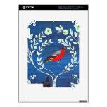 Pájaro del estilo de los artes y de los artes pegatina skin para iPad 3