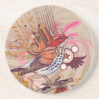 Pájaro del Grunge I Posavasos Para Bebidas