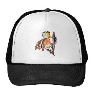 pájaro del hoopoe gorro de camionero