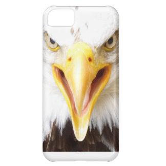 Pájaro del iPhone de Eagle del caso de la presa Funda Para iPhone 5C