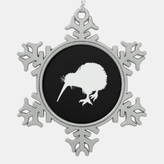 Pájaro del kiwi adornos