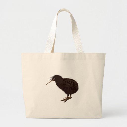 Pájaro del kiwi bolsas de mano