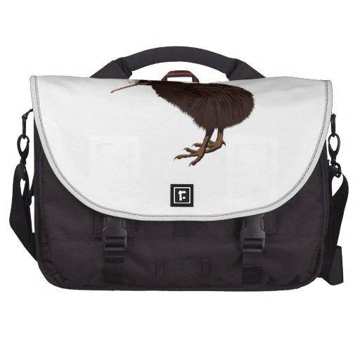 Pájaro del kiwi bolsas para portatil