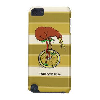 Pájaro del kiwi en un dibujo animado divertido del funda para iPod touch 5G