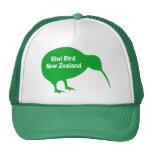 Pájaro del kiwi - Nueva Zelanda Gorras De Camionero