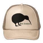 Pájaro del kiwi - Nueva Zelanda Gorros