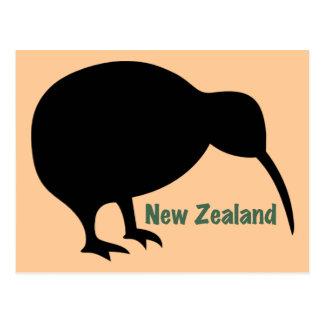 Pájaro del kiwi - Nueva Zelanda Postales