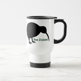 Pájaro del kiwi - Nueva Zelanda Taza Térmica