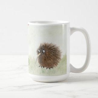 Pájaro del kiwi taza