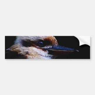 Pájaro del martín pescador pegatina para auto
