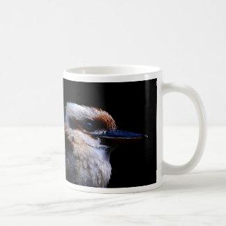 Pájaro del martín pescador taza