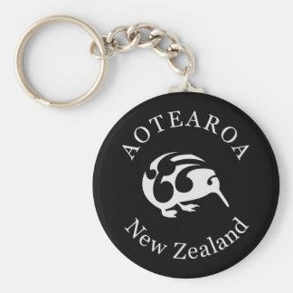 Pájaro del nacional de Nueva Zelanda /Aotearoa del Llavero Redondo Tipo Pin