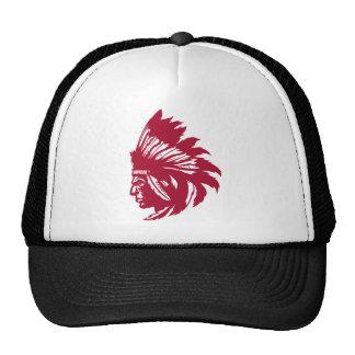 Pájaro del nativo americano gorras de camionero