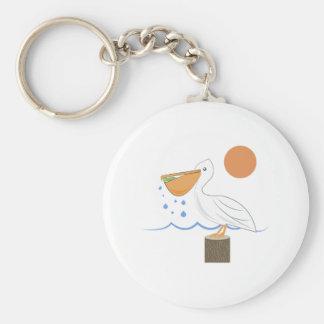 Pájaro del pelícano llavero