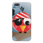 Pájaro del pirata iPhone 5 cobertura