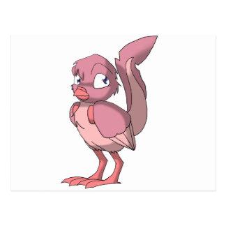Pájaro del Reptilian del yogur de la baya del Postal