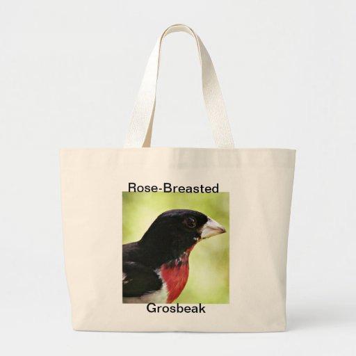 Pájaro del Rosa-Breasted Bolsa De Mano