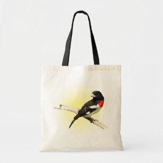 Pájaro del Rosa-breasted Bolsas De Mano
