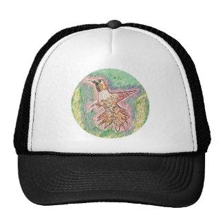 Pájaro del tarareo gorros