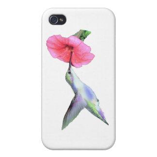 Pájaro del tarareo iPhone 4/4S funda