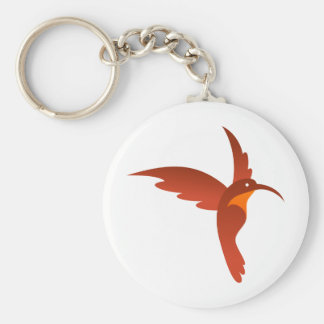Pájaro del tarareo llaveros