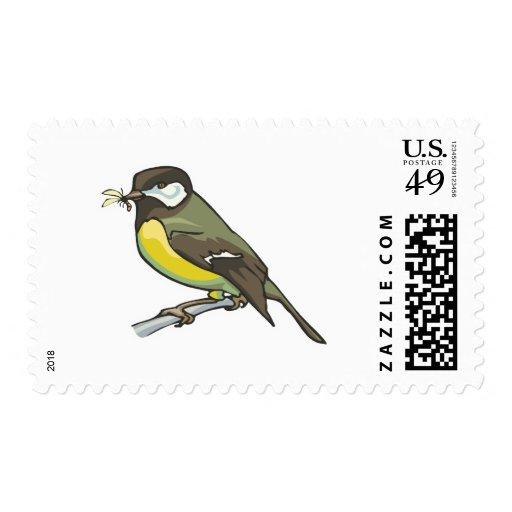 pájaro del titmouse envio
