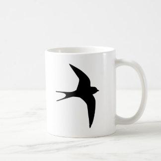 Pájaro del trago taza