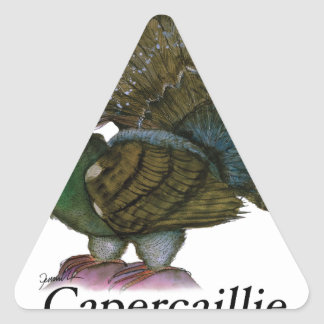 Pájaro del urogallo, fernandes tony calcomanía triangulo personalizadas