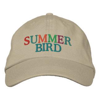 Pájaro del verano gorra de beisbol