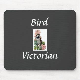 Pájaro del Victorian del cojín de ratón Alfombrilla De Raton