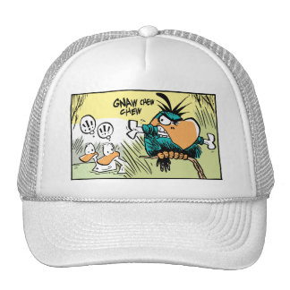 Pájaro divertido del casquillo del dibujo animado gorro