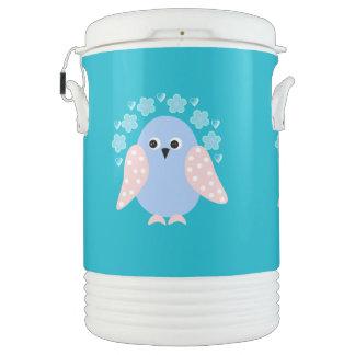 pájaro divertido enfriador de bebida igloo