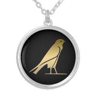 Pájaro egipcio antiguo - diosa Nekhbet Colgantes Personalizados