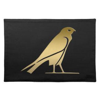 Pájaro egipcio antiguo - diosa Nekhbet Mantel