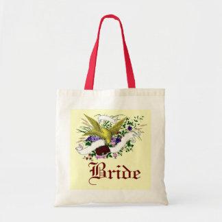 Pájaro en el ramo (a todo color) bolsas