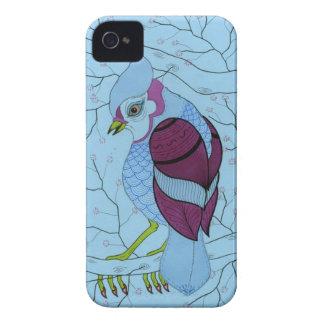 pájaro en un árbol iPhone 4 cobertura