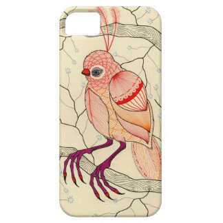 pájaro en un árbol iPhone 5 Case-Mate cárcasa