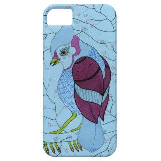 pájaro en un árbol iPhone 5 protector