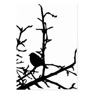 Pájaro en un ATC de la rama Plantillas De Tarjeta De Negocio