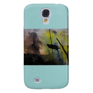 pájaro en un caso de Iphone del alambre Funda Para Galaxy S4