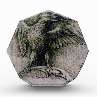 Pájaro en una rama de Andrea Mantegna