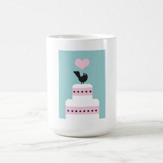 pájaro en una taza