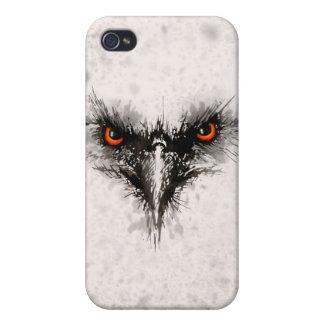 Pájaro enojado iPhone 4 carcasas