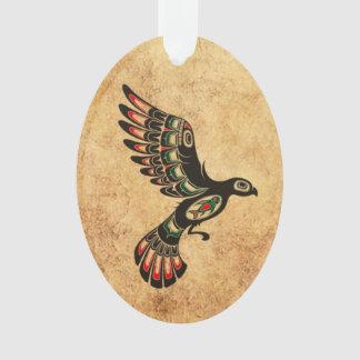 Pájaro envejecido y llevado del alcohol del Haida