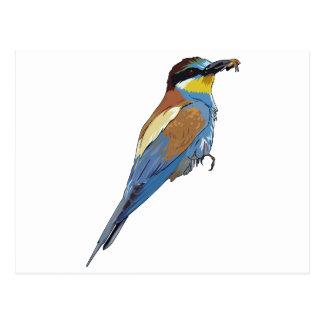 Pájaro europeo del Abeja-Comedor Postal