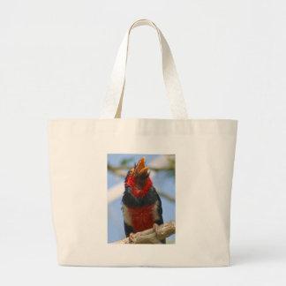 Pájaro exótico bolsas de mano
